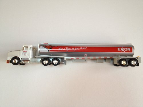 (Exxon Toy Tanker Truck Collectors' Series,red)