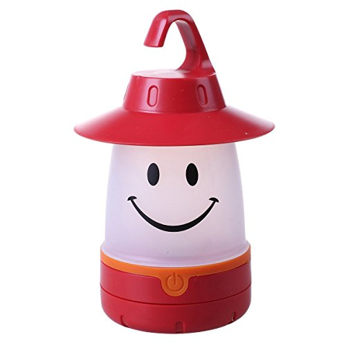 Smile lantern, Smiley Face LED Night Light Portable Moving Table Lamp for Indoor Outdoor Decorate Kids Room - Lamp Smiley Face