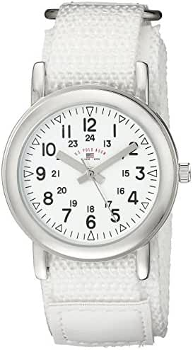 U.S. Polo Assn. Kids' USB75019 Analog Display Analog Quartz White Watch