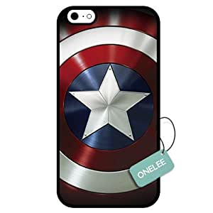 Onelee(TM) - Captain America Custom iPhone 6 Case & Cover - iPhone 6 Case - Black 8