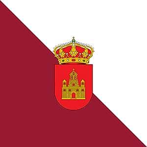 Grijota | Municipal de Grijota Palencia Flag | 0.06m² | 0.65sqft | 25x25cm | 10x10inch for Diplomat-Flags Car Flag Poles