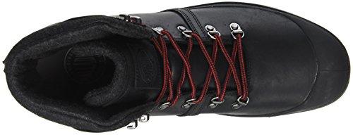 H Nero Pallab Uomo Collo Red Hikr Sneaker Black Castlerock Palladium Alto a FWna4q8A