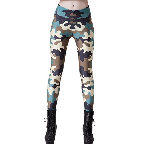 Joyhy Digital Printed Leggings Footless