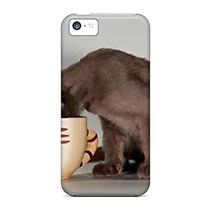 For Iphone 6 (4.5) Cupcat Phone PC mobile High Quality covers protection miao's Customization case