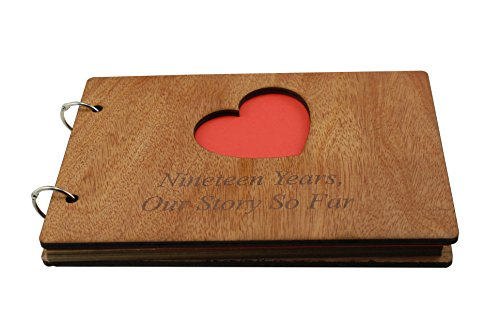 19 Years Our Story So Far - Scrapbook, Photo album or Notebook Idea For 19th Anniversary