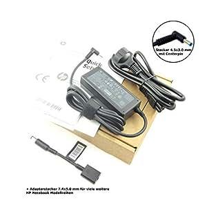 Fuente de alimentación original para HP 710412-001, 19.5 V, 3.33 A con conector de tamaño 4.5 x 3.0 mm E Centerpin