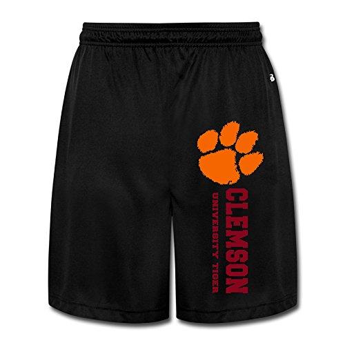 Clemson Universtiy Tiger Men's Funny Performance Short Pants Colornam