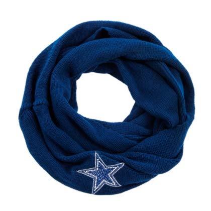 5b62f2ba Amazon.com : Dallas Cowboys Knit Infinity Scarf : Sports & Outdoors