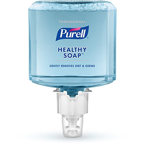 PURELL ES6 Professional HEALTHY SOAP Foam Refill, Fresh Scent, 1200 mL Soap Refill for ES6 Touch-Free Dispenser (Pack of 2) - 6477-02