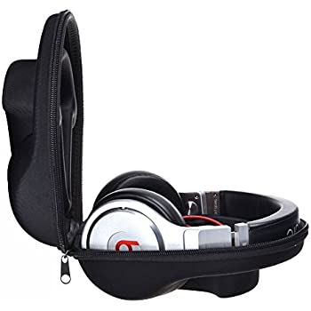 96b7f266f56 EVA Protecting and Carrying Hard Headphone Case Bag Box for Beats by Dr.  Dre Pro Detox Pro Over/Beats Studio 1 2 3 Studio Wireless SOLO 2 3 Headphone  (L)