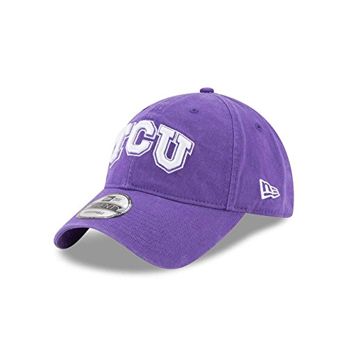 New Era TCU Horned Frogs Campus Classic Adjustable Hat - Team Color, One Size (Frogs Tcu Horned Golf)