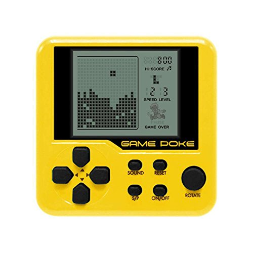 Balai Kids Mini Console Retro Tetris Game Handheld Arcade Electronic LCD Toys Brick Game Built-in 26 Games