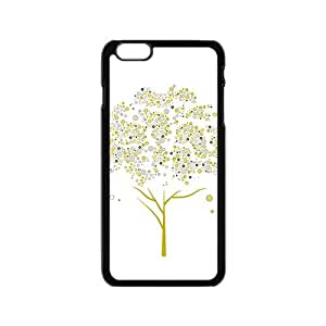 The Circle Tree Hight Quality Plastic Case for Iphone 6