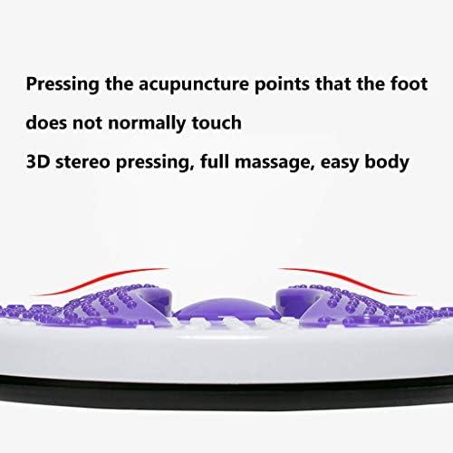 JSZXC Aimant Taille Wringgling Plate Fitness Twist Disque Grand Twister Dispositif Masseur De Pied Machine Machine Minceur Maison Sports Outil