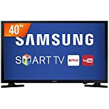"Smart TV LED 40"", Samsung, UN40J5200AGXZD, Preto"