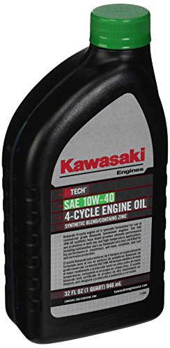 Kawasaki K-Tech SAE 10W-40 Engine Oil Quart #99969-6296