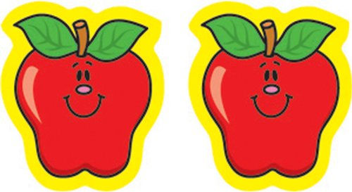 Carson Dellosa Apples Shape Stickers (5242)