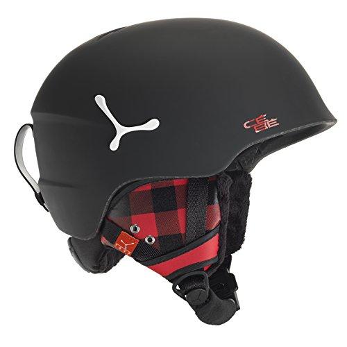 CEBE SUSPENSE DELUXE SKI HELMET (MATTE BLACK SQUARE SIZE - Helmets Cebe Ski