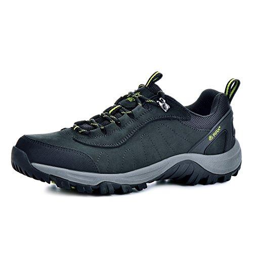 Rax-Mens-Leather-Waterproof-Mountaineering-Hunting-Trekking-Hiking-Shoes