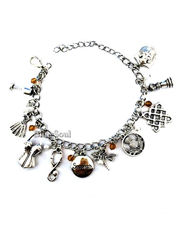 Outlander Charm Bracelet Jewelry Merchandise Collection for
