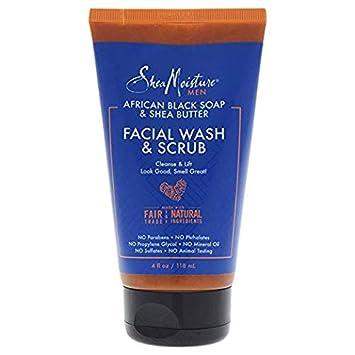 f4481b1ca03e Amazon.com: Shea Moisture African Black Soap & Shea Butter Facial ...