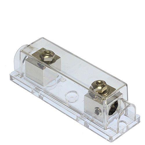 VOODOO (1) 400 AMP ANL Fuse & (1) Inline Fuseholder Battery Install Kit 1/0 Gauge 1FT by VOODOO (Image #4)