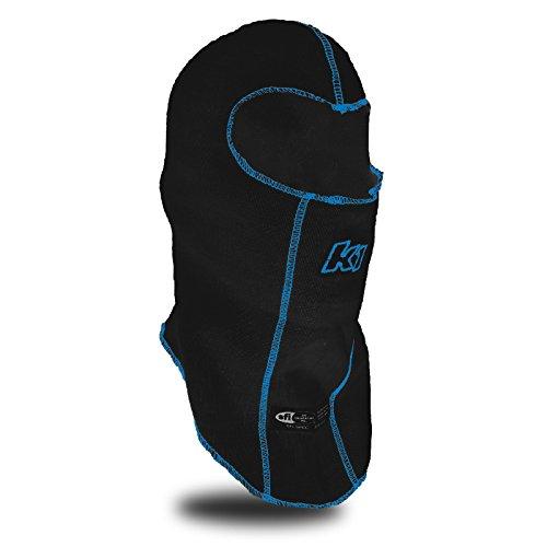K1 Race Gear Double Layer Nomex Head Sock/Balaclava (Black) (Layer Balaclava)