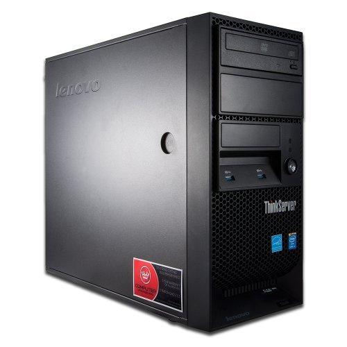 Lenovo ThinkServer TS140 i7-4770 3.4GHz 16GB 250GB SSD + 3TB 7200rpm HDD Server Desktop Computer