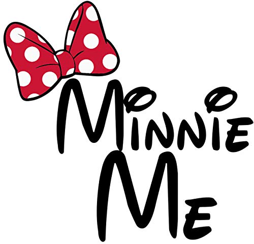 (Disney Minnie Me Minnie Mouse Iron On Transfer for T-Shirts & Other Light Color Fabrics #12)