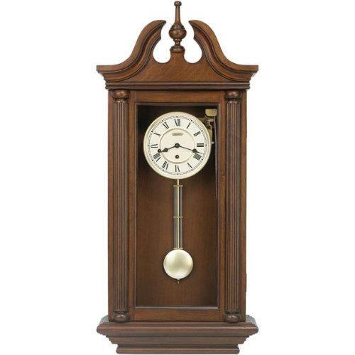 Bulova Walnut Manchester II Triple Chime Wall Clock