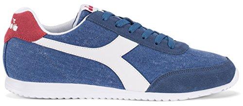 Diadora Jog Light C, Zapatillas a cuello bajo Unisex–Adulto azul Size: 41
