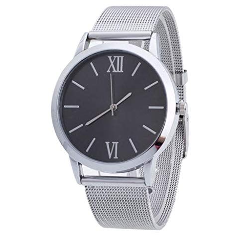 - LUCA Women's Quartz Analog Watch with Stainless Steel Band and Ultra-Thin Mesh Bracelet