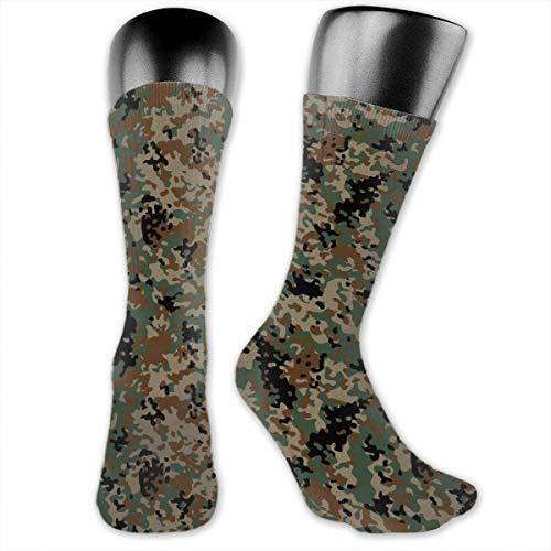 goodsale2019 Bas unisexe chaussettes désert militaire Camo mignon drôle chaussettes décontracté Polyester équipage… 1