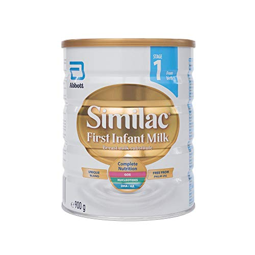 Similac First Infant Milk (Stage 1, from Birth), 900g