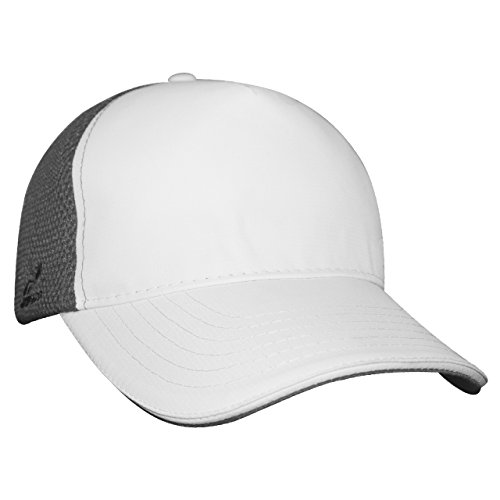 Headsweats Soft Tech 5 Panel Trucker Hat (Grey)