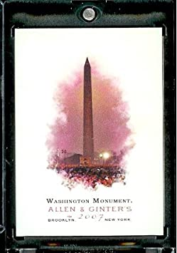 2007 Topps Allen & Ginter # 268 Washington Monument Baseball Card