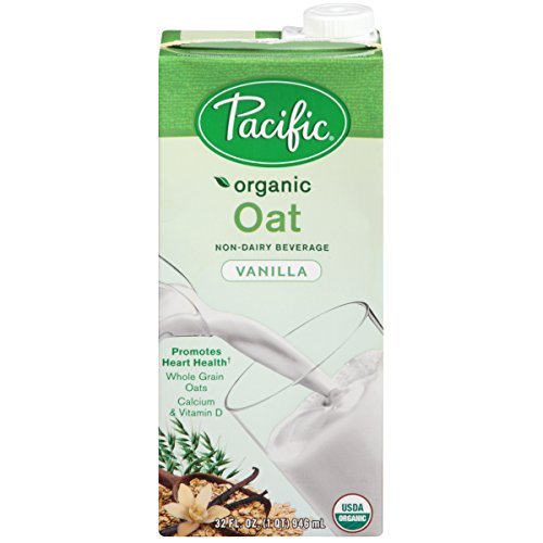 Pacific Oat Beverage Vanilla, 32-ounces (Pack of6) by Pacific