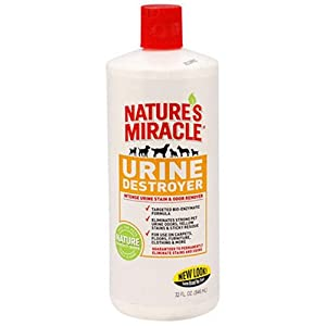 7. Nature's Miracle – Urine Destroyer Stain and Residue Eliminator