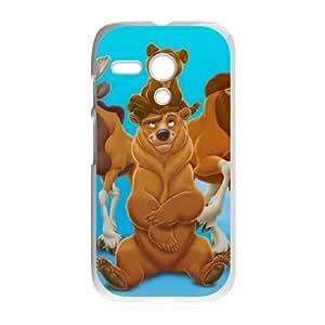 Motorola Moto G Phone Case White Brother Bear VKL3082008