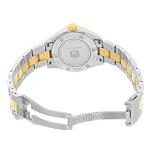 TAG Heuer Women's WV1450.BD0797 Carrera Mother of Pearl Dial Watch
