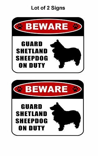 d Shetland Sheepdog (silhouette) on Duty