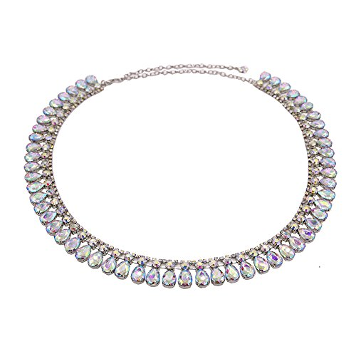 Dance Fairy New Teardrop-shaped Glass Rhinestone Belt Apparel-belts#6 - Latin Dancesport Costume