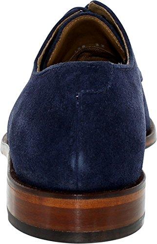 Cole Haan Hommes Carter Grand Plaine Oxford Marina Bleu