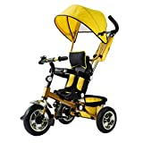 YAN Bikes for Toddlers Tricycle Folding Children's Tricycle Portable Child Bicycle Baby Stroller