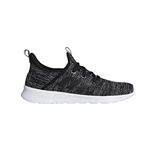 adidas Performance Women's Cloudfoam Pure Running Shoe, Black/Black/White, 5 M US