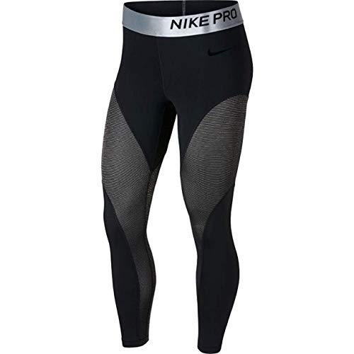 Nike Women's Pro Warm 7/8 Training Tights (Black, X-Large)