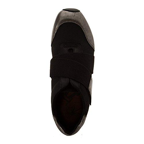 Otbt Donna New Wave Sneakers Moda Nero Argento