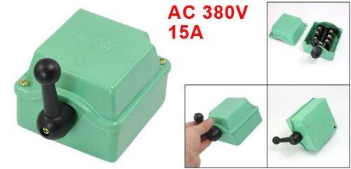 DealMux a13050400ux0540 QS-15 Modelo AC 380V 15 Amp I-0-I adelante atr/ás del tambor interruptor de arranque Cam