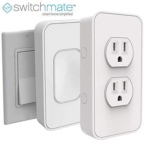 Switchmate Power & Switches Kits, USB charger, Timer, Snaps Over Rocker Switch, App Controlled