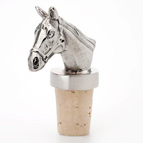 Imagen de caballo de Metal Tapón de Botella de vino